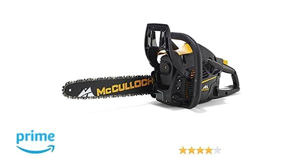 McCulloch 967326303 - Motosierra térmica McCULLOCH CS 380: Amazon.es: Bricolaje y herramientas