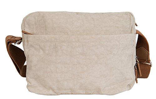 SPIRIT LEGGERO VIAGGIO CROSSBODY BORSA FAB COLORI ARTICOLO N. 1669 Beige (Stone)