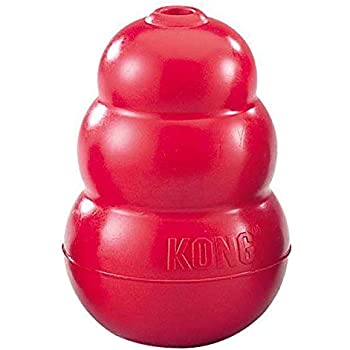 KONG Classic Red Dog Toy Free and Fast Shipping