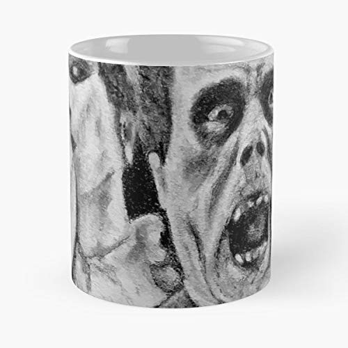 Phantom Opera Of The Unmasked - 11 Oz Coffee Mugs Unique Ceramic Novelty Cup, The Best Gift For Halloween. -