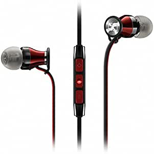 Sennheiser HD1 In-Ear Headphones (iOS version) - Black Red (Discontinued by Manufacturer)