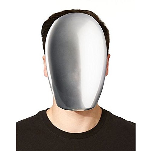 Costume Beautiful Chrome Faceless (Faceless Mask Halloween)