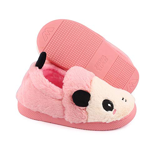 MK MATT KEELY Kids Panda Slippers Plush Animal Autumn and Winter Warm Cotton Shoes Toddler Girls by MK MATT KEELY (Image #3)