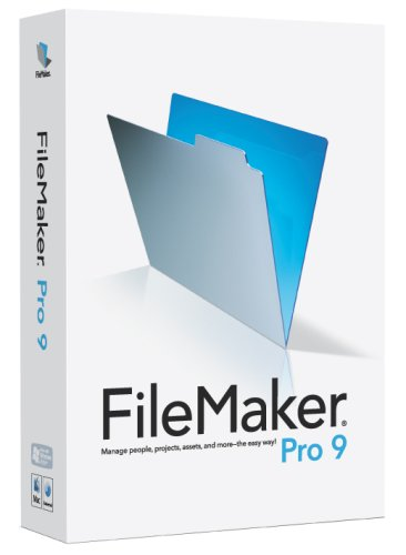 FileMaker Pro - (V. 9.0) - Complete Package - 1 User - CD - Win, Mac - English (30088G) Category: Software Suites by Filemaker