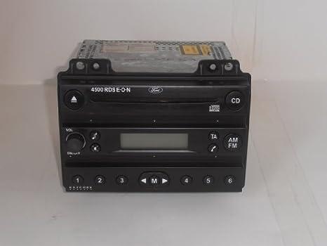 original Ford Auto Radio CD-Radio 4500 RDS EON Fiesta 6 Fusion Player silber