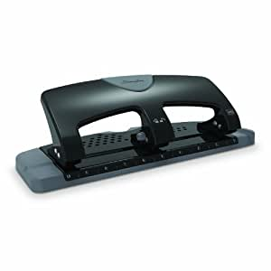 Swingline 3 Hole Punch, SmartTouch, Low Force, 20 Sheets Punch Capacity (74133)
