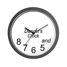 """CafePress - Dancer's - Unique Decorative 10"""" Wall Clock"""