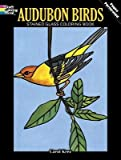 img - for [(Audubon Birds Stained Glass Coloring Book )] [Author: Carol Krez] [Mar-2003] book / textbook / text book