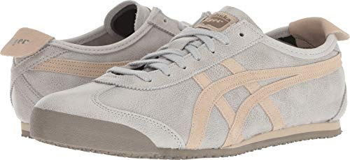 Fashion Men's Mid Grey Tiger Grey 66 Sneaker Feather Onitsuka Mexico IPHRqCBw