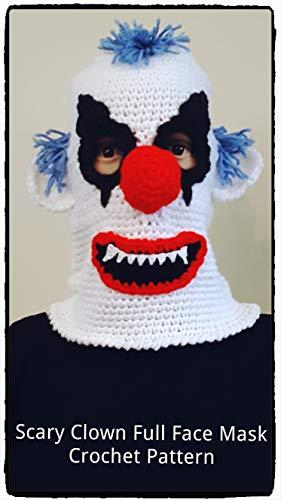 Crazy Clown Ski Mask