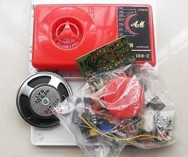New 7 Tube AM Radio Electronic DIY Kit Electronic Learning