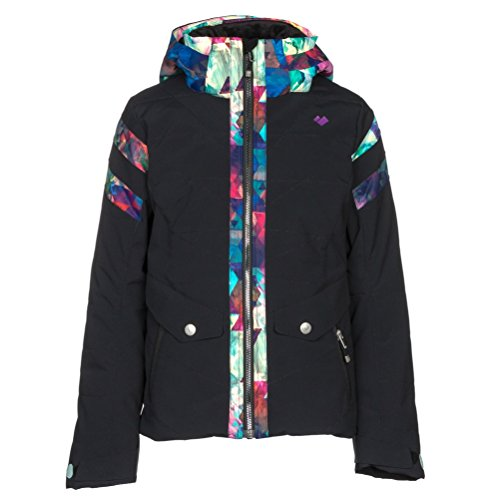 Obermeyer Kids Girl's Dyna Jacket (Big Kids) Black Large by Obermeyer Kids
