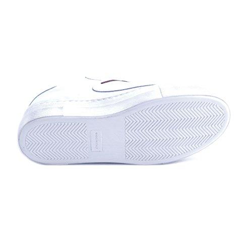 Applicazioni Taglia Scarpe de Giulia Donna Lait in 36 CoMYPsBll7Fl Pelle con Bianca Nati Sneakers Patch U1UxqOw8