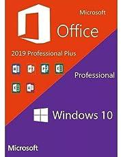 PACOTE OFFICE 2019 PRO PLUS MAIS WINDOWS 10 PRO 32/64 BITS COMPLETO
