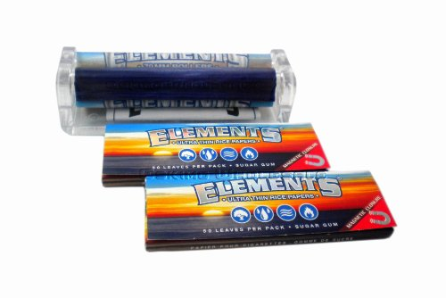 elements-79mm-cigarette-rolling-machine-2-packs-of-elements-ultra-thin-rice-1-1-4-rolling-papers