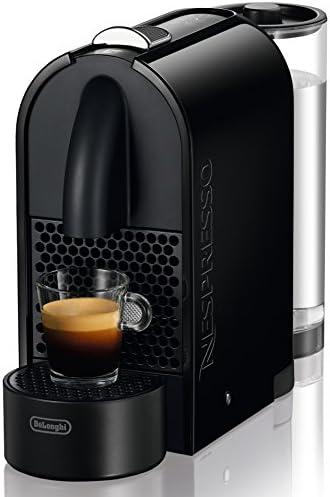 Nespresso U Black EN 110 B DeLonghi - Cafetera monodosis (19 bares, Máquina Táctil, Depósito modular), Color ...