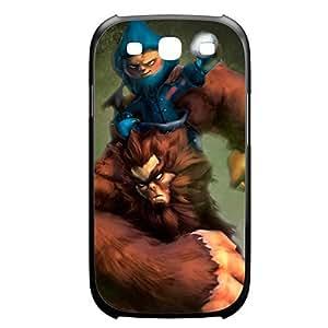 Nunu-003 League of Legends LoL For Case Samsung Note 3 Cover Plastic Black