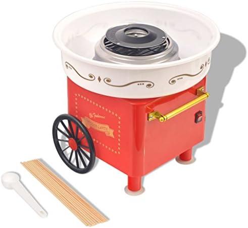 Festnight Máquina de Algodón de Azúcar Roja: Amazon.es