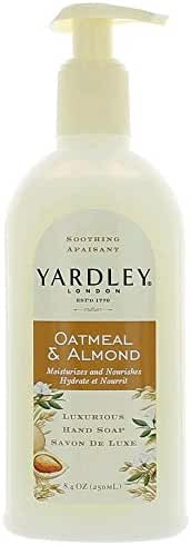 Yardley London Liquid Hand Soap - Oatmeal & Almond - 8.4 oz