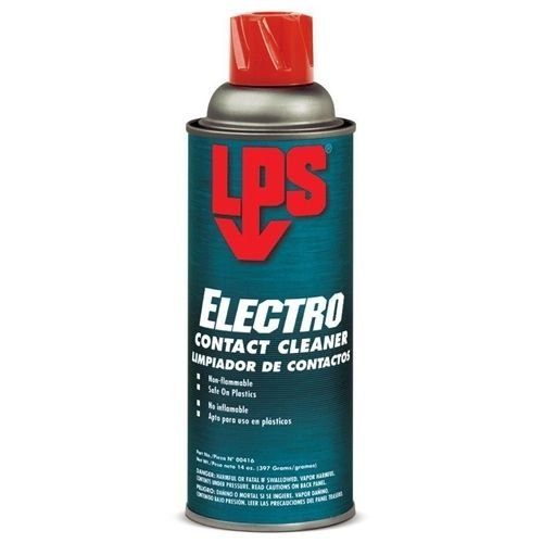 LPS 00816 Electra-X Contact Cleaner, 12 fl. oz., Aerosol Can, Clear (Pack of 12)