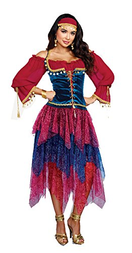 Dreamgirl Women's Gypsy, Multi, L