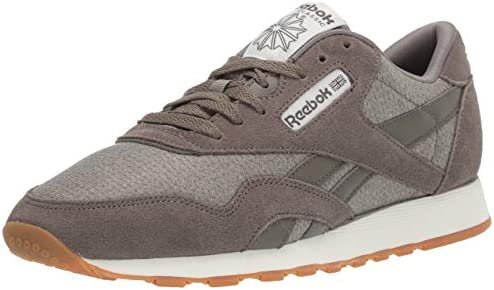 Reebok Men's Classic Leather Nylon M Sneaker Terrain Grey