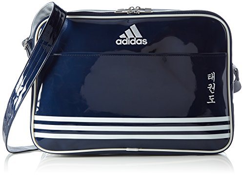 Sports Navy sports Shiny Unisex bag PU Umhngetasche blue shiny Blue Bag adidas Shoulder Bag TDK TKD shoulder PU bag Silver wx07nYPqTX