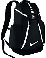 Nike™ Hoops Elite Max Air Team Backpack with ultradurable water-resistant polyester, Dedicated laptop sleeve, Perfect for Sports, Travel and School (Black 12)