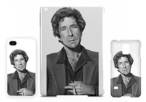 Leonard Cohen Charcoal iPhone 7+ PLUS cellulaire cas coque de téléphone cas, couverture de téléphone portable