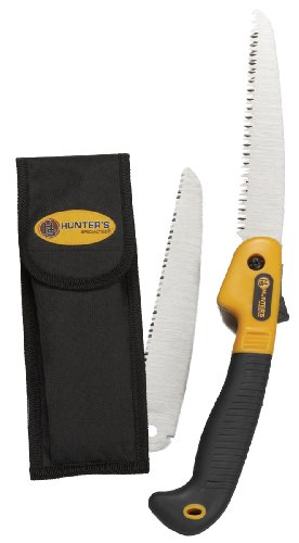 Hunters Specialties Folding Saw with (Hunter Hunting Knife)