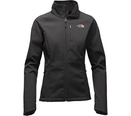 The North Face Apex Bionic 2 Womens Soft Shell Jacket - Small/TNF Black Heather