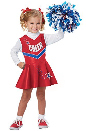 California Costumes Classic Cheerleader Costume, One Color, 3-4 -