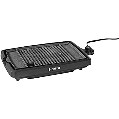 The Rock(tm) By Starfrit(r) 024414-003-0000 The Rock By Starfrit(r) Indoor Smokeless Electric Bbq Grill from THE ROCK(TM) BY STARFRIT(R)