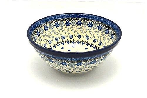 (Polish Pottery Bowl - Large Nesting (7 1/2