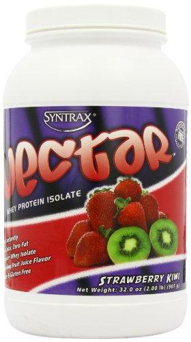 Syntrax Nectar isolat protéique de lactosérum, Fraise Kiwi, £ 2,0 (907 g)