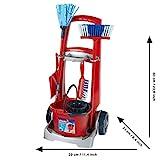 Theo Klein 6742 Vileda Broom Trolley I Equipped