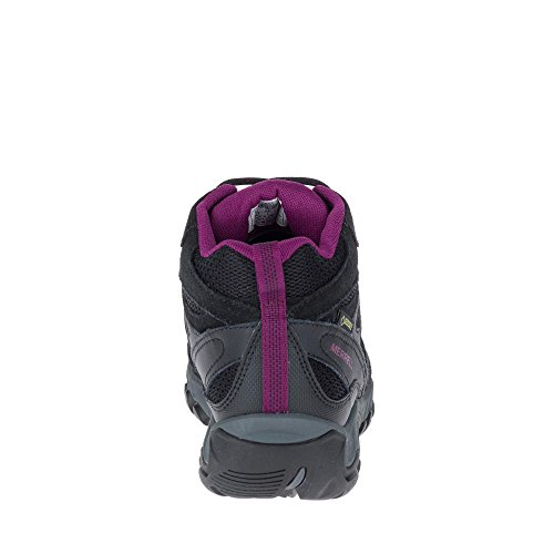 GTX Shoe Vent Black Womens Black Mid Outmost Merrell 56qxXAnwfx