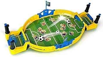 KJRJSF Fútbol de mesa, fútbol Juego de fútbol conjunto de juguete, niños mesa de escritorio de
