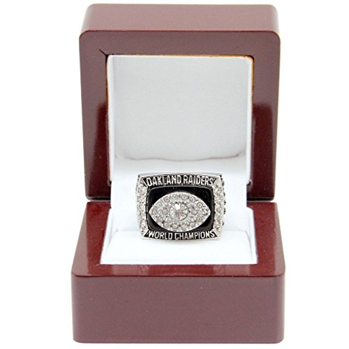1976 Super Bowl - Oakland Raiders 1976 NFL Super Bowl XI Championship Ring (Size 10-13)