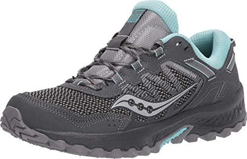 Saucony Excursion TR 13 Charcoal/Blue, Zapatillas de Atletismo para Mujer: Amazon.es: Zapatos y complementos