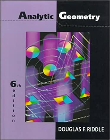 Analytic Geometry Ebooks Free Download Websites