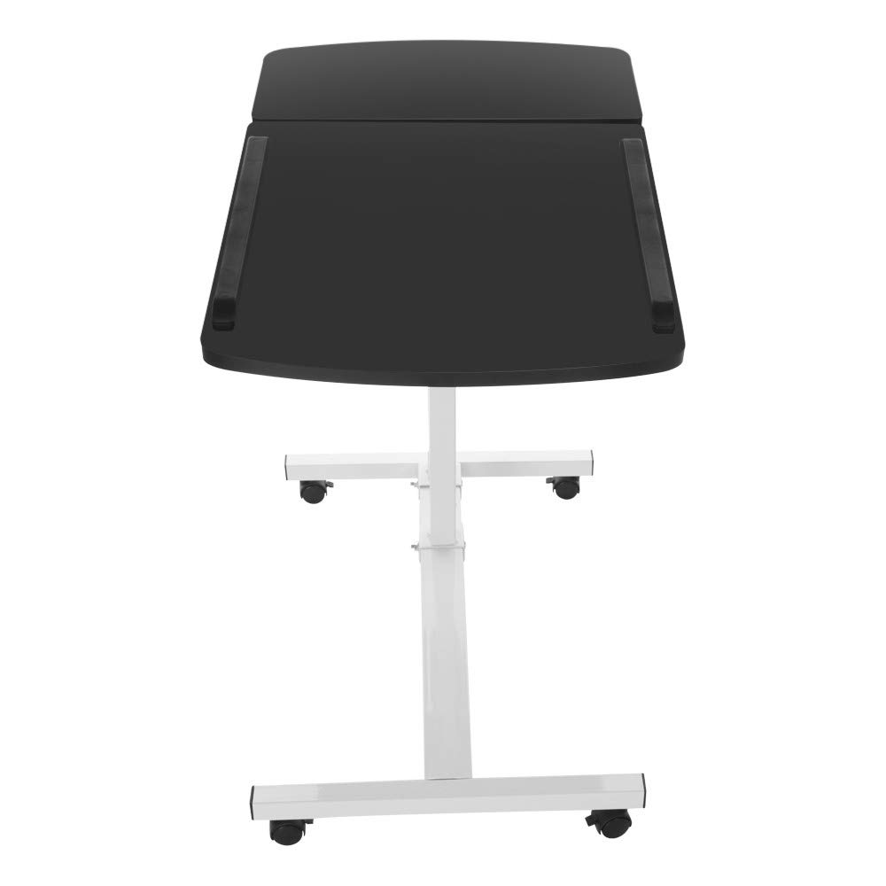FengGa Computer Desk for Small Space/Writing Desk/Compact Desk/Foldable Desk.Household Can Be Lifted and Folded Folding Mobile Small Working Desks Home Computer (Black, 17.32inch×15.75inch.) by FengGa 3C (Image #5)