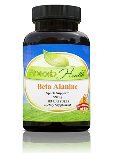 Beta Alanine Capsules Muscle Bodybuilding Supplement product image
