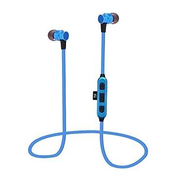 Auriculares inalámbricos estéreo ST-K5 Bluetooth V4.2, bajo magnético de metal,
