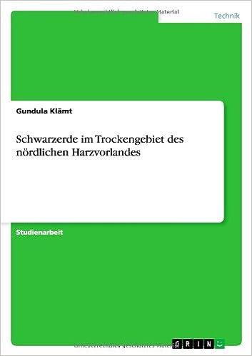 Descargar Novelas Bittorrent Schwarzerde Im Trockengebiet Des Nördlichen Harzvorlandes PDF Gratis Descarga