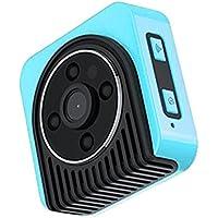 Ocamo Mini Wifi Wireless Camera HD 720P Infrared Micro Camcorders Portable Night Vision Motion Detection Camera blue
