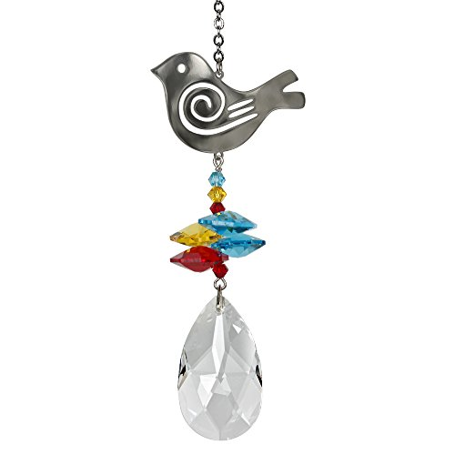 Woodstock Crystal Fantasy Suncatcher, Bird by Woodstock Chimes