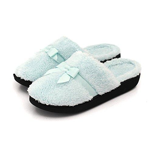 In Caldo Donna Con Suola Confortevole Inverno Morbido Pantofole E Da Casa Autunno Insipido Cotone Spessa rHq1rxnf