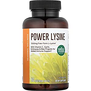 Whole Foods Market, Power Lysine, 90 ct