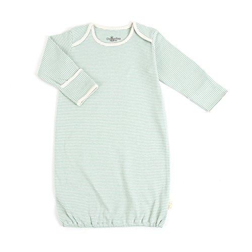 Tadpoles Organic Cotton Sleep Gown, Sage, 0-6 - Sleeping Gowns Newborn
